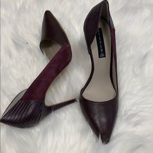 Steve Madden Purple leather pumps